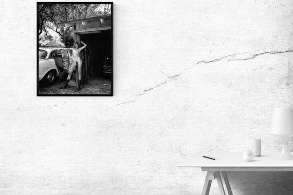 ISABELLA ROSSELLINI /& HELLMUT NEWTON PRINT MATTE POSTER SIZE MOVIES PHOTO