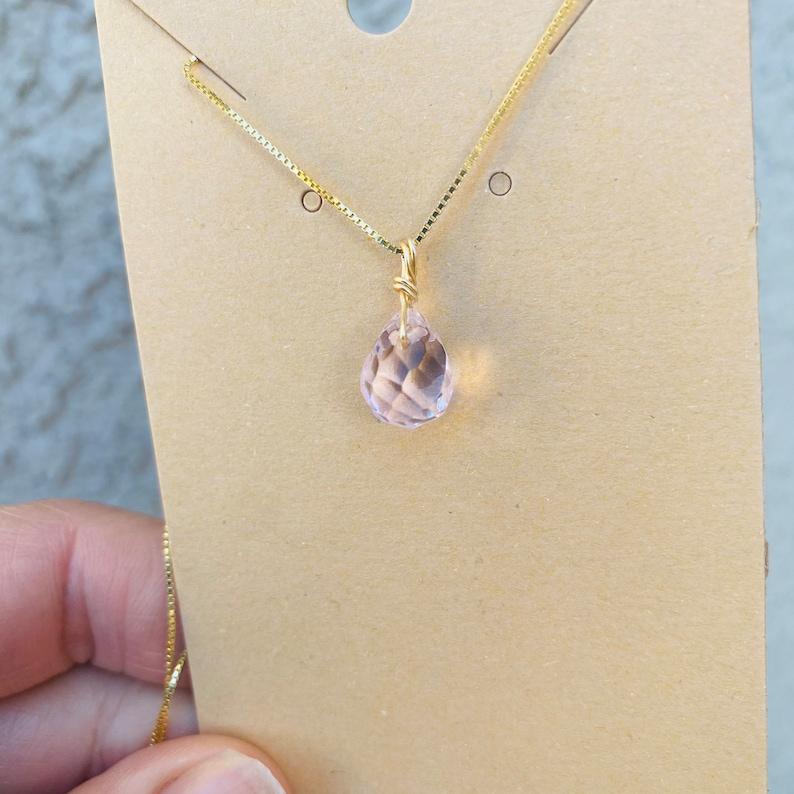 Healing Rose Quartz Necklace