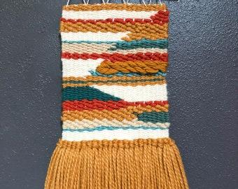 Customizable Weaving-Fully Customizable Woven Wall Hanging-Customizable Wall Decor-Custom Fibers Art