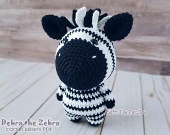 zebra juventus amigurumi tutorial schema gratis crochet   Patrones ...   270x340