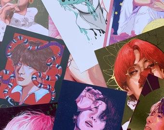 Assorted KPOP Prints