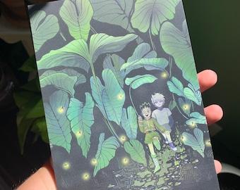 Hunter x Hunter: Gon & Killua Exploring Mini Print