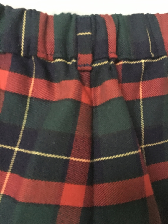 Vintage 80's/90's Boys Red,Green,Navy,Yellow Plai… - image 3