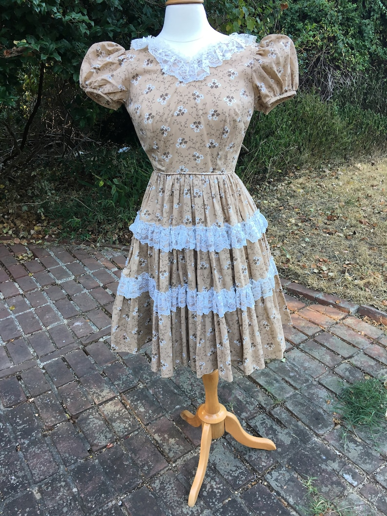 Vintage Square Dancing Rockabilly Patio Dress by Square dancers by Donnell/'s of Denver