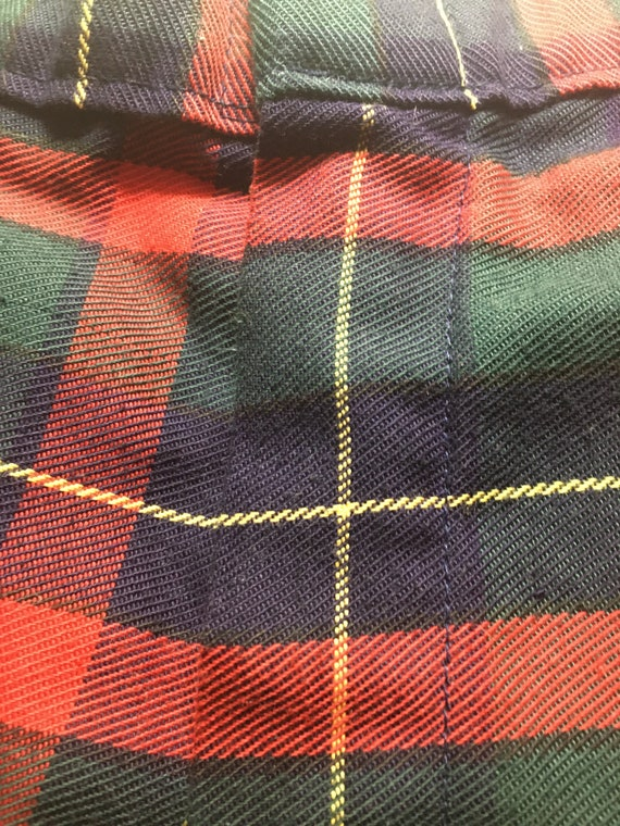 Vintage 80's/90's Boys Red,Green,Navy,Yellow Plai… - image 5