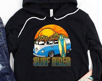 Newport Beach California Hoodie Hoody Men S-3XL  Gift Surfing Pier Balboa Surf