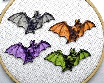 Bat Needleminder  Resin Bat Needle Minder  Halloween Needleminder