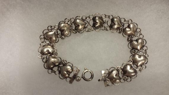 Sterling Silver (925) Sweetheart Bracelet