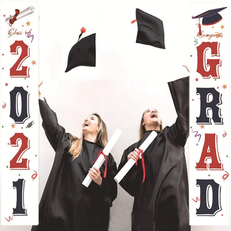 2021 graduation porch sign decorations graduation party decorations 2021 2021 graduation decorations Class of 2021 yard sign