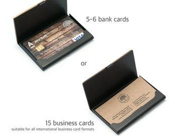 Wooden wallet, credit card holder, wallets for men.