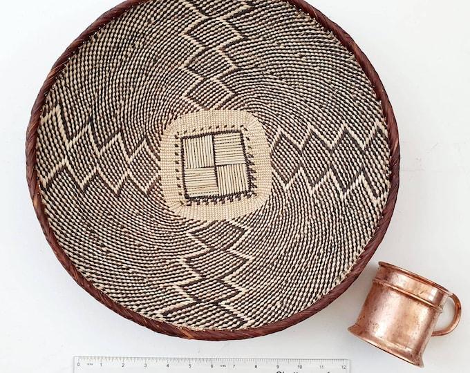 Hand woven Binga basket/african basket/Wall art basket/handmade basket/Ilala basket