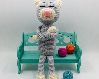 Crochet Amineko Cat with Free Pattern | 270x340