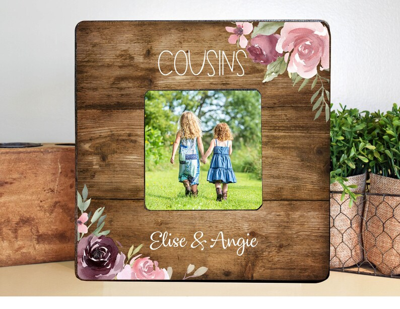 Cousin Gift Cousins Cousin Frame Personalized Cousin Gift Personalized Frame Cousin Birthday Gift
