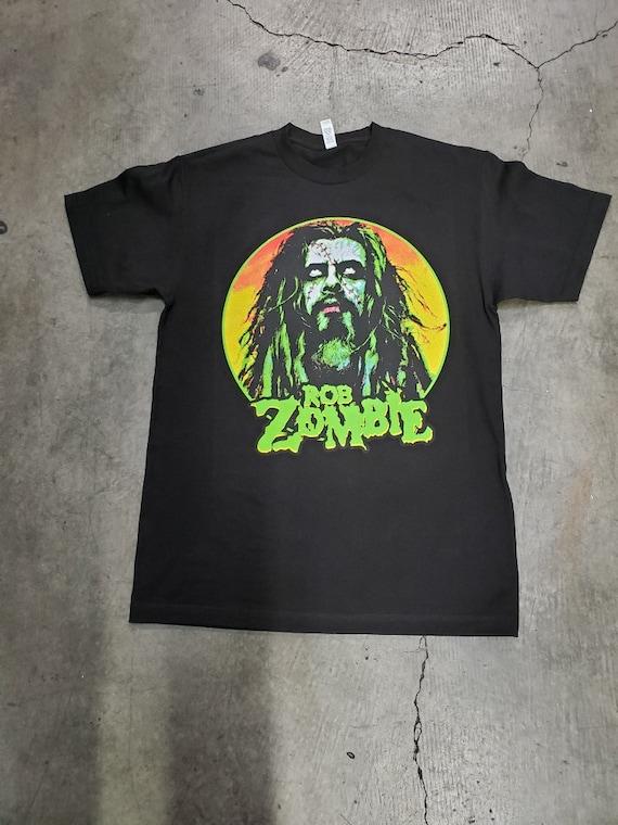 Rob Zombie Hell Billy Head T-Shirt