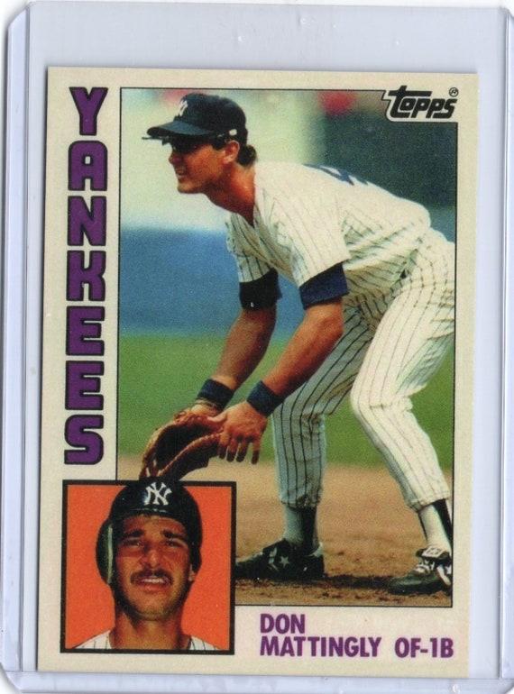 2017 Topps Don Mattingly Yankees