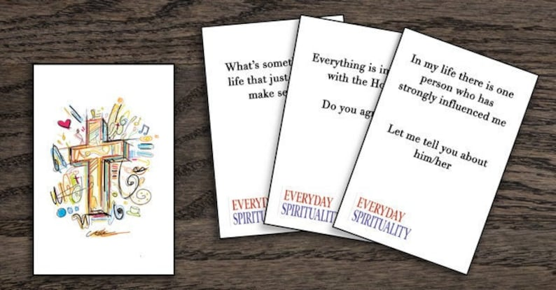 Everyday Spirituality Conversation Cards image 0