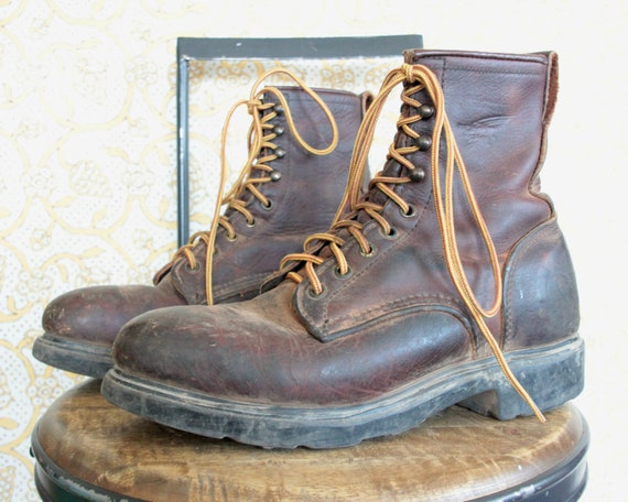 Mens 8 Vintage 1960's Redwing Boots