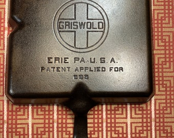 Griswold #666 Colonial Cast Iron Breakfast Skillet (perfect)