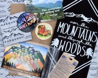 Adirondack Hiker Gift Set/Hiking Log/Hiking Journal/Adirondack Hiking/Hiker Gift/Adirondack High Peaks
