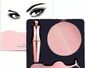 Magnetic Liquid Eyeliner and 3D Magnetic Eyelashes Set