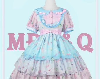 Place holder price to keep page viewable(We are in the production Phase)Sweet Summer Fragrance, Plus Size Friendly Lolita Dress