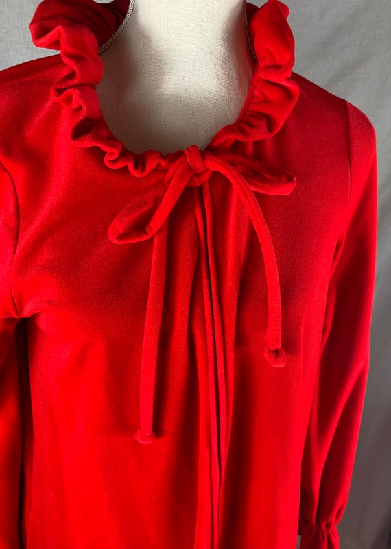 Vintage Miss Elaine red robe