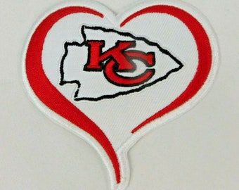 Buy 2 Get 1 Free Kansas City Chiefs Patch,NFL Sports Team Patch,Embroidered Patches #P-4016 4 KC Groot Iron onSew on Patch