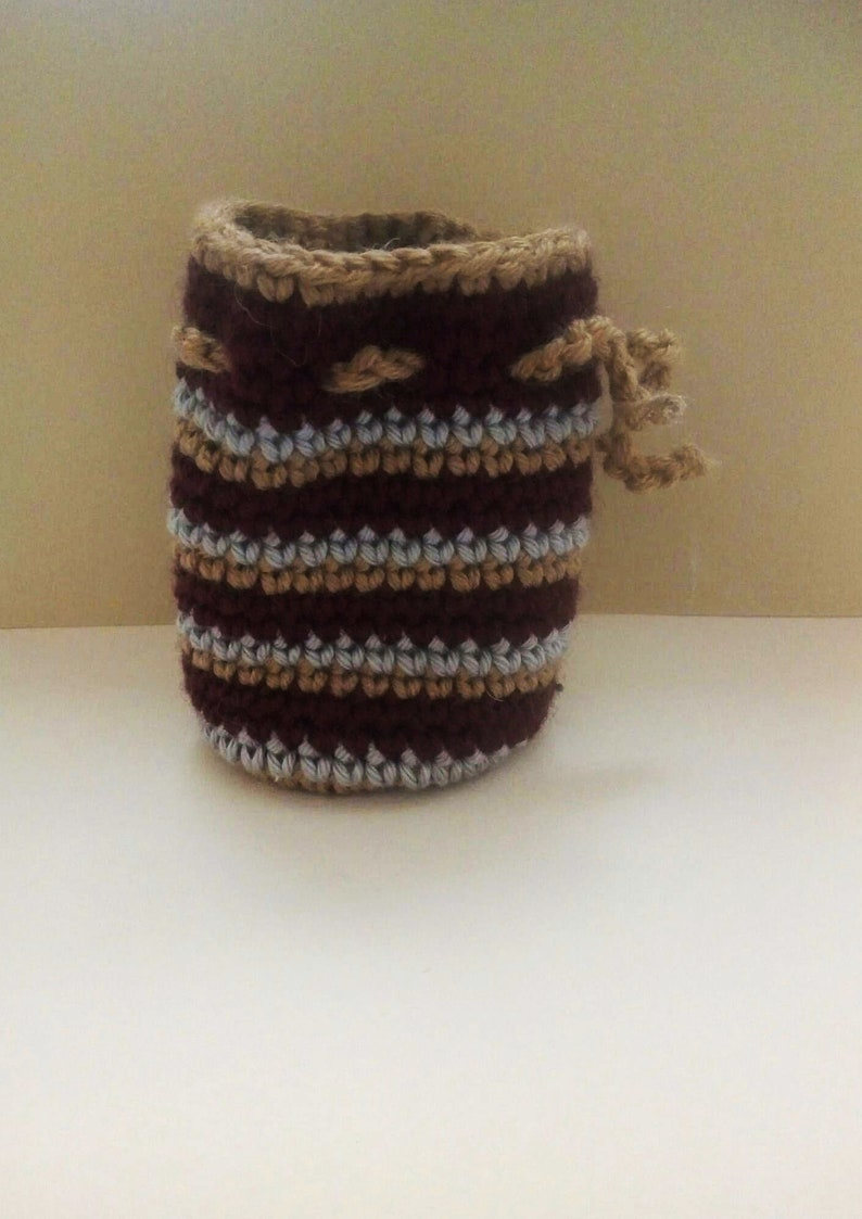 wool currency door Small purse