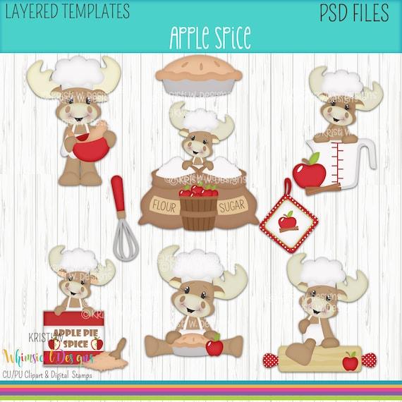 Sublimation,Cookie Cutters Fabric Pumpkin Spice- Digital PSD Layered Graphics-Kristi W Designs Scrapbook Clothing Scrapbook