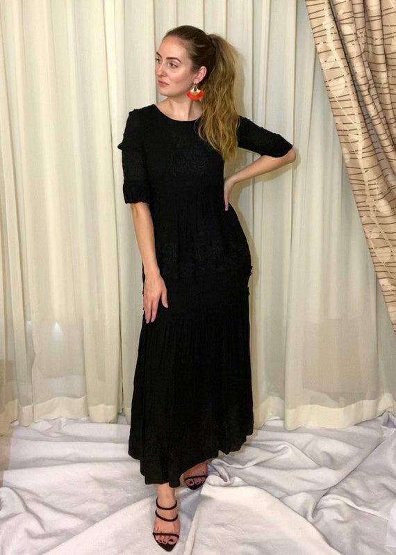 Ornate Boho Maxi Dress