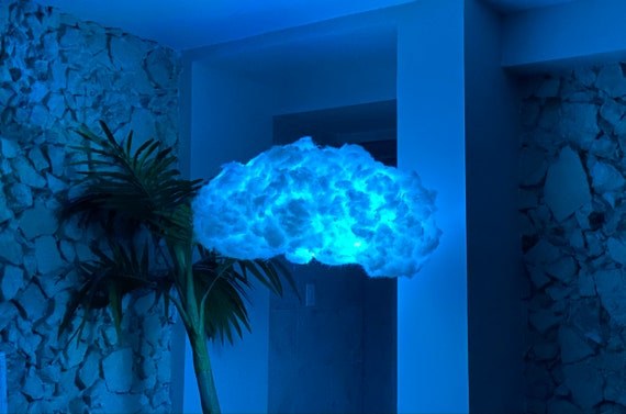 Ourtopia Led Cloud Vibe Out With Music Synced Led Lights Etsy So, if you wish to obtain all these magnificent pics regarding (beautiful aesthetic room with led lights), click on save link to save the. ourtopia led cloud vibe out with music synced led lights hanging aesthetic bedroom cloud with