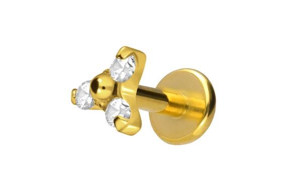 piercinginspiration\u00ae Titanium Internal Thread Basic Barbell Piercing