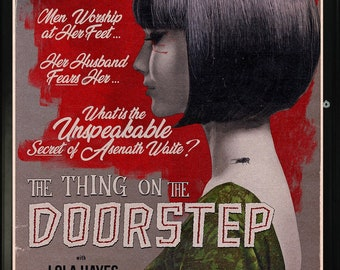 H.P. Lovecraft's The Thing on the Doorstep, 1942 movie poster | 11x17 Art Print
