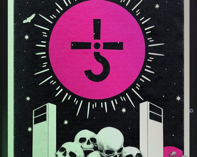 Featured listing image: Blue Oyster Cult: Imaginos tarot card print | 11x17 Art Print