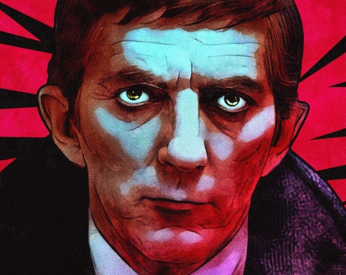 """Featured listing image: Barnabas Collins 11"""" x 17"""" art print"""
