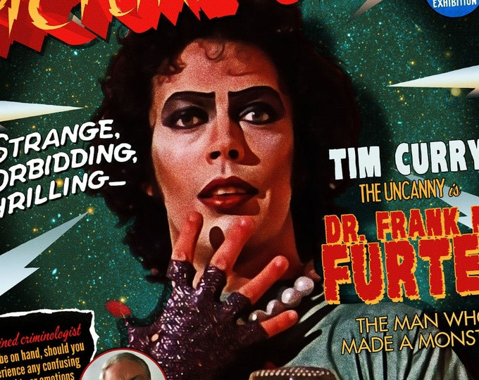 Featured listing image: Rocky Horror classic-style movie poster | 11x17 Art Print
