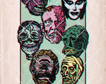 The Marvelous Age of  Monsters | 11x17 Art Print