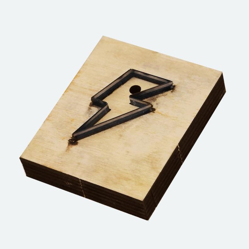 lightningwoodworker giftleather diy leather cutting die Wooden die cutt  Suitable For Die Cutting Machine