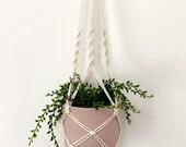 Samples Sale - Macrame Plant Hangers - Indoor Hanging Planter - Boho Home Decor - Eco-Friendly Decoration - Housewarming Gift - Handmade