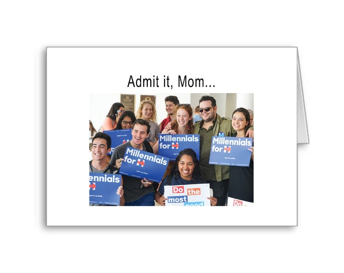 Political Mother's Day Card | Happy Mother's Day | Politically Incorrect | Naughty Card | Political Memes