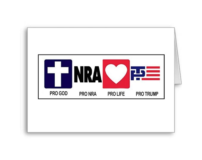 Political Father's Day Card | Happy Father's Day | Role Model | Politically Incorrect | NRA | God and Country