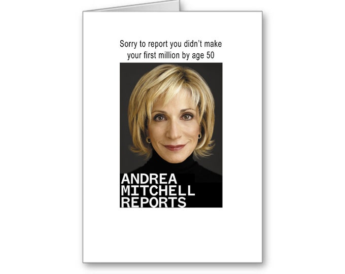 50th Birthday for her | First Million | Happy Birthday | Politically Incorrect | Mad Money | Turning 50 | Hey you can't say that