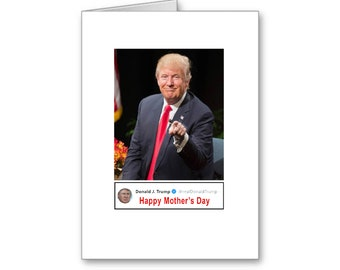 Mother's Day Tweet | Political Mother's Day Card | Happy Mother's Day | Politically Incorrect | Trump 2020 | MAGA
