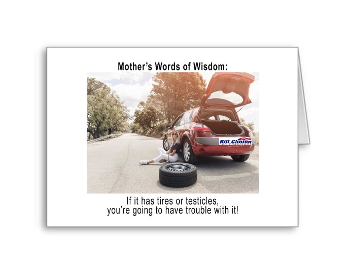 Mother's Day | Words of Advice | Thanks Mom | Naughty Card | Happy Mother's Day | Politically Incorrect |
