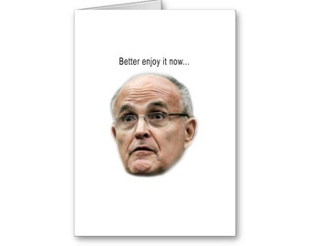 Getting older card | Funny Republican Birthday Card | More Wrinkles | Bar Code | Happy Birthday | Politically Incorrect