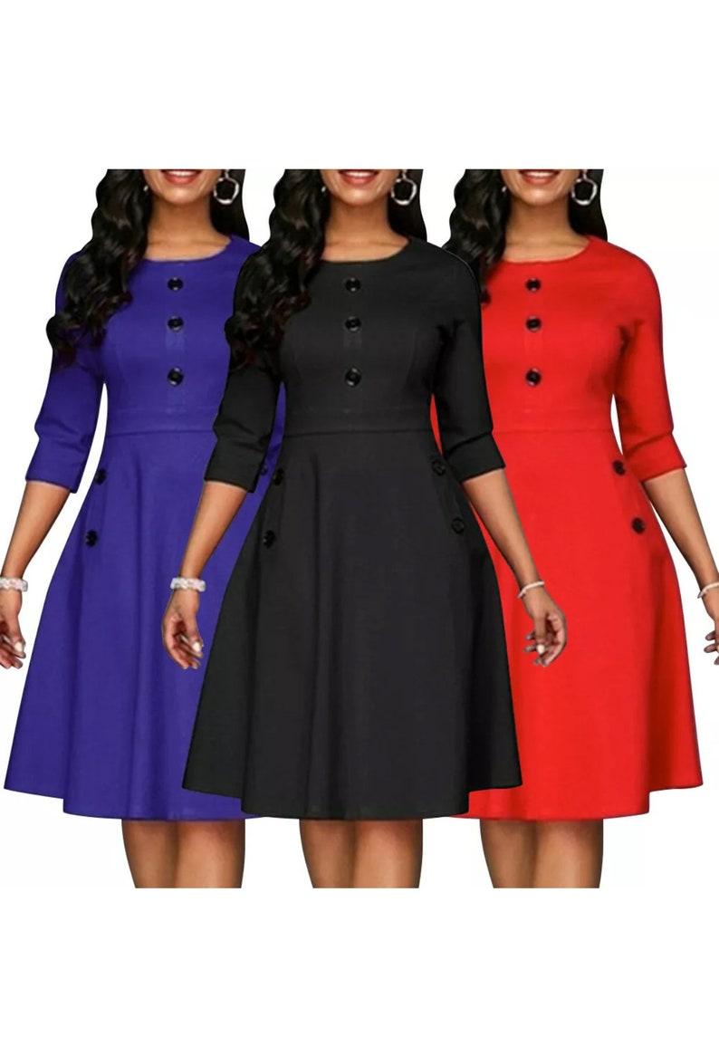 Women Elegant Casual Dress