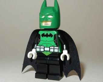 Personalizado diseñado Minifigura Clark Kent de cambiar a Superman impreso en piezas de Lego