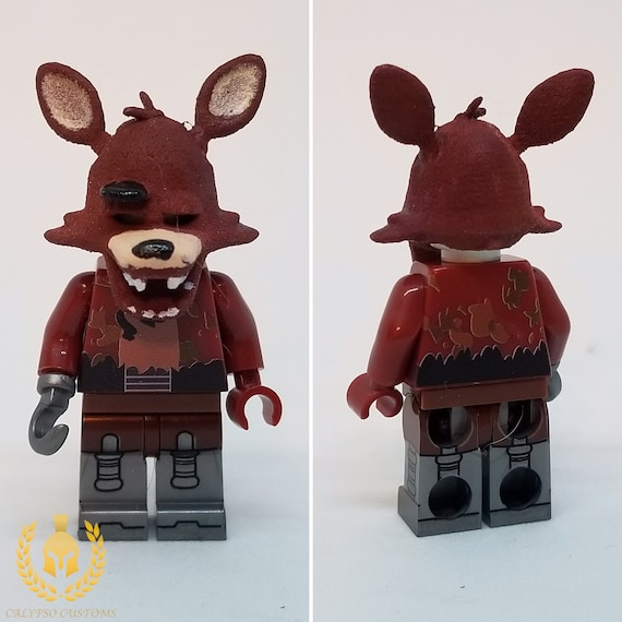 Nightmare Fox Custom Printed Horror Video Game Minifigure       NEW Calypso Customs Minifigure Featuring UV Printed Pieces