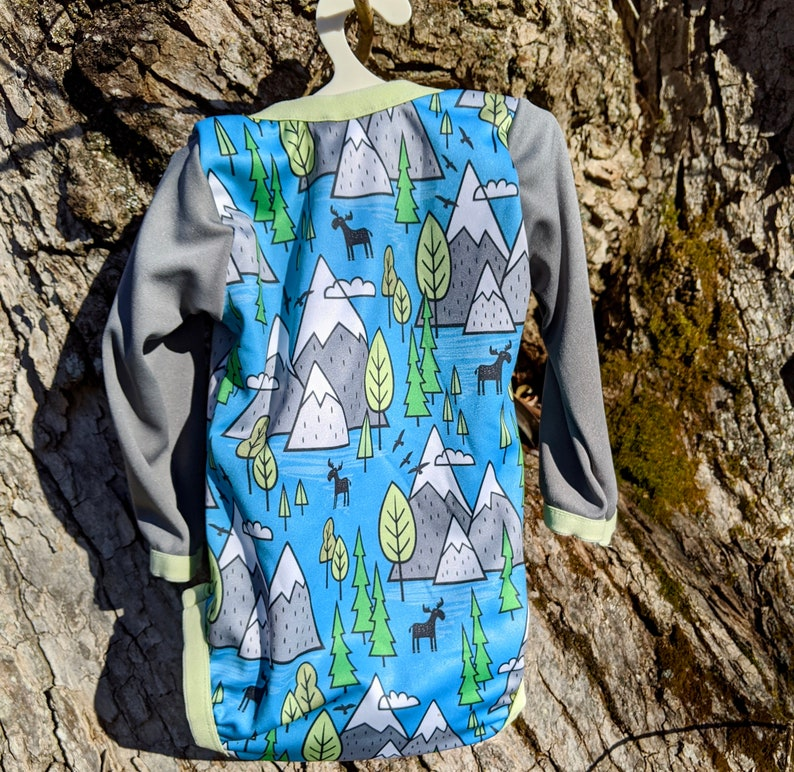 Moose Coming Home Outfit Clothes Mountains Baby Boy Shower Gift