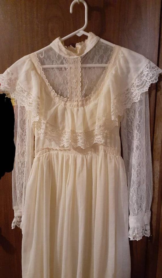 Vintage 1970s Gunne Sax Dress by Jessica McClintoc